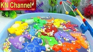Đồ chơi trẻ em Bé Na Câu Cá tập 8 mùa hè vui nhộn Kỹ năng sống Fishing toy playset Kids toys