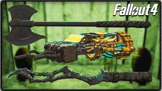 getlinkyoutube.com-Fallout 4 Secret Melee Weapons! Kremvh's Tooth, Furious Power Fist & Grognak's Axe! (Where to Find)