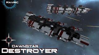 getlinkyoutube.com-Space Engineers - DawnStar Destroyer