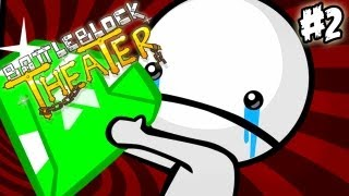 getlinkyoutube.com-SECRETO, YUPI YAY! - Battleblock Theater #2