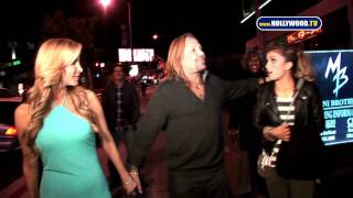 chanel-: Vince Neil Demonstrates Skating with the Stars Pose With Jennifer Wester