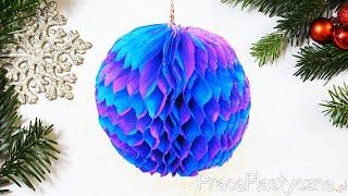 getlinkyoutube.com-Jak zrobić bombkę z bibuły?