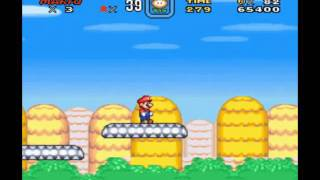 getlinkyoutube.com-New Super Mario Bros SNES Hack