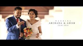 getlinkyoutube.com-Archana Kavi & Abish Wedding Teaser
