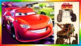 getlinkyoutube.com-CARS 3 - Race o Rama - Disney - Pixar - Lightning McQueen - Mater Toons - the cars part 1 (Game)