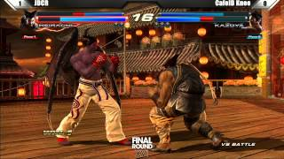 getlinkyoutube.com-Tekken Tag Tournament 2 Grand Finals JDCR vs CafeID Knee - Final Round XVI