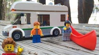 getlinkyoutube.com-Review - Lego City: Camper Van (60057) [CC]