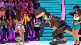 getlinkyoutube.com-El Dinosaurio y Los Manitos en SABADAZO-JULIO 2015