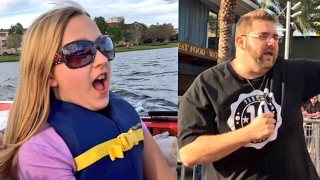 MOST EMBARRASSING FATHER EVER! FAT DAD GOES FULL CRINGE AT DISNEY SPRINGS!