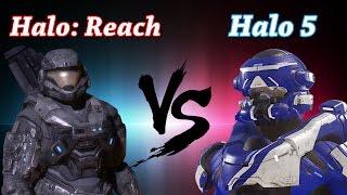 getlinkyoutube.com-Who did Armor Customization Better? Halo 5 vs. Halo: Reach! (Ft. The Act Bro)