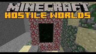 getlinkyoutube.com-HOSTILE WORLDS - Nueva dimension, Zombies invader y Boss - Minecraft 1.6.4  y 1.7.10 Review ESPAÑOL