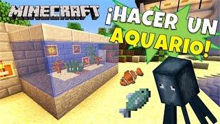 getlinkyoutube.com-Minecraft: Como hacer un Aquario, (aquarium)