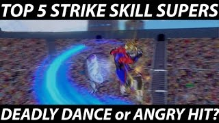 getlinkyoutube.com-Dragon Ball Xenoverse - Top 5 Strike Skill Super Attacks