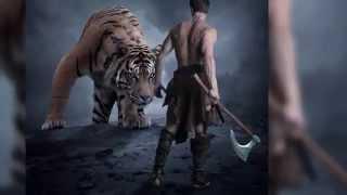 getlinkyoutube.com-Photoshop Tutorial - Photo Manipulation Effect - Warrior