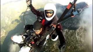 Skydiving from Microlight & Paragliding at 12th International Ölüdeniz Air Games
