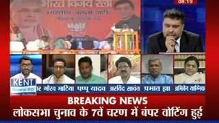 getlinkyoutube.com-Tonight with Deepak Chaurasia: Attack on Narendra Modi is beneficial for the opposition?