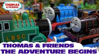 """Thomas and friends """"The Adventure Begins"""" Thomas The Tank Engine"""