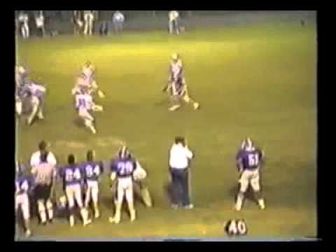 Bolton Wildcats Football 1987 #18 vs. Memphis University School