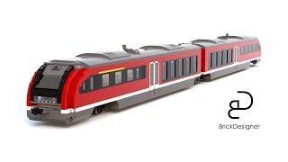 Siemens Desiro - Made in LEGO Digital Designer