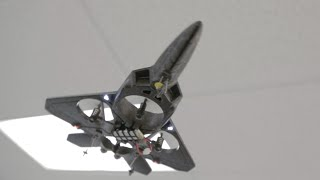 getlinkyoutube.com-X31 2.4Ghz F22 Quadcopter Fighter Jet