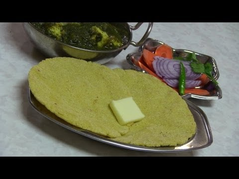 Makki ki Roti video recipe- Indian Flat Corn Bread - Gluten free recipes by Bhavna