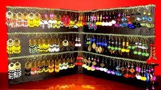 getlinkyoutube.com-Espositore per orecchini fai da te/Stand for earrings handmade/Küpe için Standı/Подставка под серьги