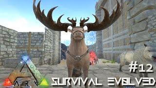 getlinkyoutube.com-ARK: Survival Evolved - NEW MEGALOCEROS MOOSE - TAMING - BIOMES UPDATE !!! [Ep 12] (Server Gameplay)