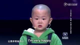 getlinkyoutube.com-Best Break Dance Ever - Adorable 3 year old is very happy to dance!