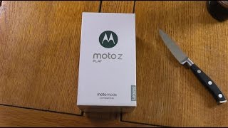 Moto Z Play - Unboxing