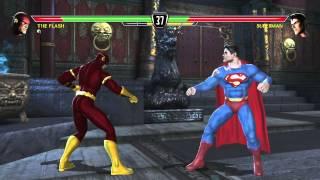 Mortal Kombat Vs DC Universe Playthrough The Flash