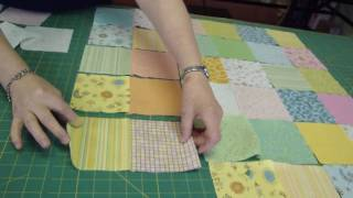 getlinkyoutube.com-Make a Baby Quilt - Part 1 - Fabric Selection & Assembly