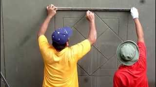 wall plaster design 12413 i youtube - Wall Plastering Designs