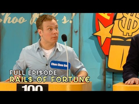 Rails of Fortune - FULL EPISODE - Choo Choo Bob Show