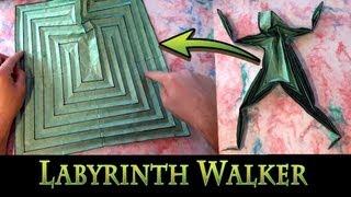 getlinkyoutube.com-Origami Labyrinth Walker by Jeremy Shafer