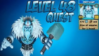 Wizard101 - Level 48 Frostgiant Spell Quest (Lvl 48 Ice)