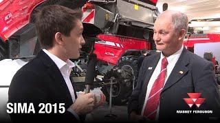 Massey Ferguson at SIMA 2015 - Combine Harvesters