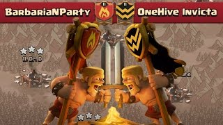 getlinkyoutube.com-TAKING DOWN ONEHIVE | Clash of Clans | Epic Clan War VS OneHive Invicta