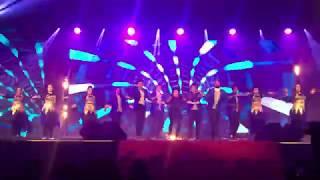 Hipnotics Dance Crew with Actress Arya - Asianet Ponnonam 2017