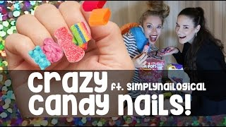 getlinkyoutube.com-CRAZY 'EDIBLE' CANDY NAILS! ft SIMPLYNAILOGICAL