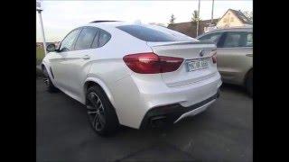 getlinkyoutube.com-Aktiv Sound BMW X6 M50d Diesel Soundbooster Auspuff Maxhaust Wetterauer