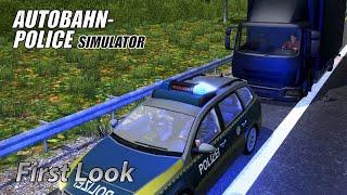 getlinkyoutube.com-Autobahn Police Simulator - First Look