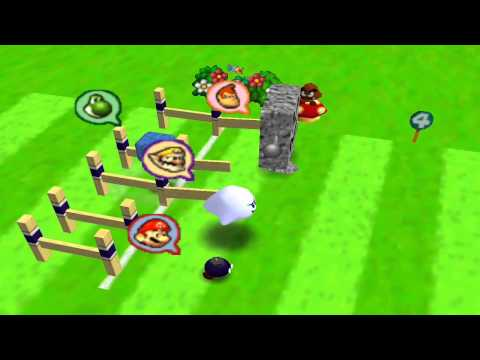 Mario Party 2 Mini Games - Day At The Races