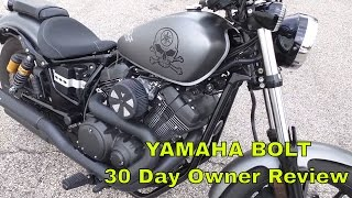 getlinkyoutube.com-Yamaha Star Bolt 30 Day Owner Likes and Dislikes Review