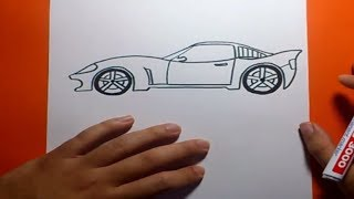 getlinkyoutube.com-Como dibujar un coche paso a paso | How to draw a car