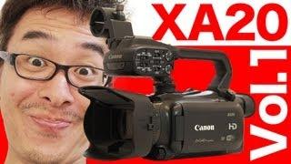 getlinkyoutube.com-Canon 業務用デジタルビデオカメラ XA20がやってきた! 開封編 前編