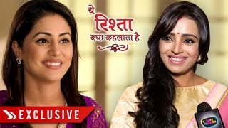 getlinkyoutube.com-EXCLUSIVE : Parul Chauhan Clarifies Not Replacing Hina Khan | Yeh Rishta Kya Kehlata Hai
