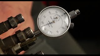 Setting the Land Rover Bosch VE FIPE with a dial gauge