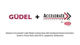 Click to view Accelerate Lighweight Tooling with Gudel roboSpeed