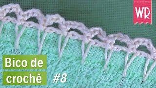 getlinkyoutube.com-Bico de crochê MEGA fácil e simples para fralda #8