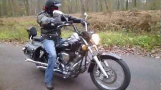 getlinkyoutube.com-Turn Out DragStar 125 Biker02